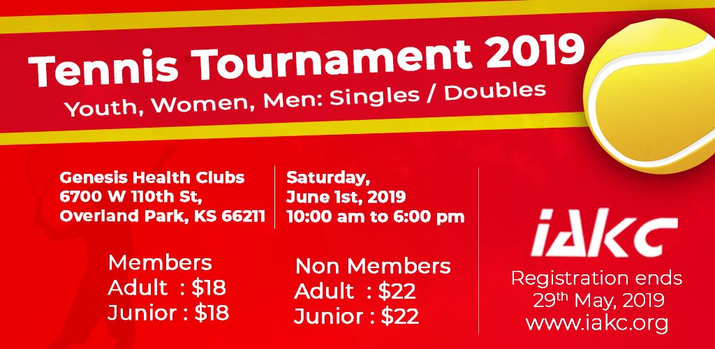 Tennis Tournament - NonMember