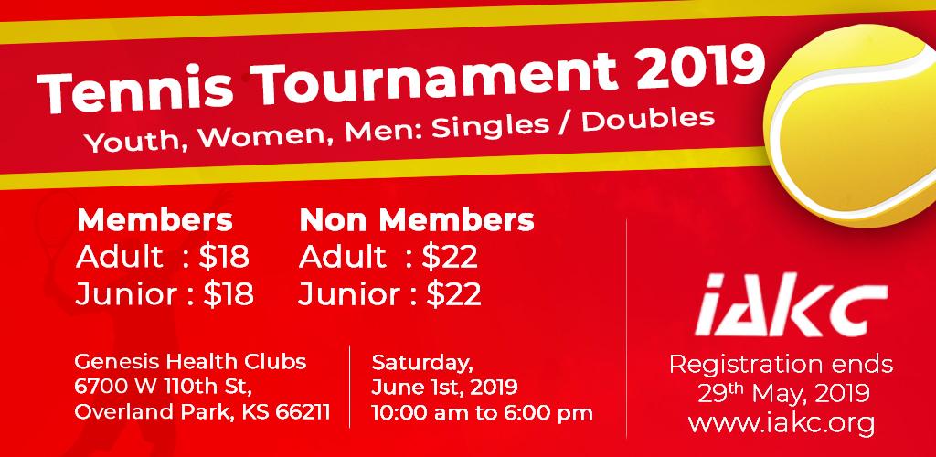 Tennis Tournament - Doubles Registration - NM