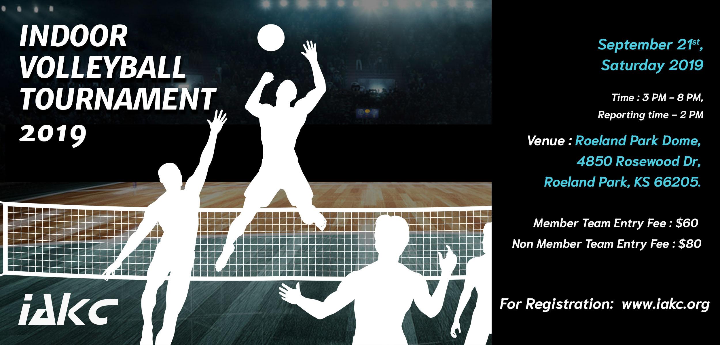 Indoor Volleyball Tournament